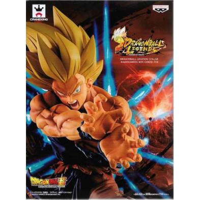 Figura Dragon Ball de Son Goku Kamehameha - Legends Collab - Banpresto
