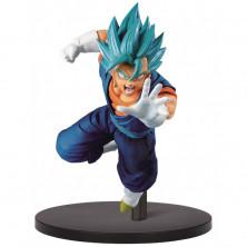 Figura Dragon Ball de Vegetto Super Saiyan God - Chosenshiretsuden - Banpresto
