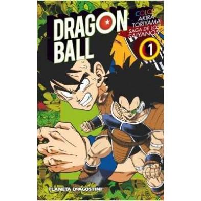 Dragon Ball Color Saiyan nº 01/03