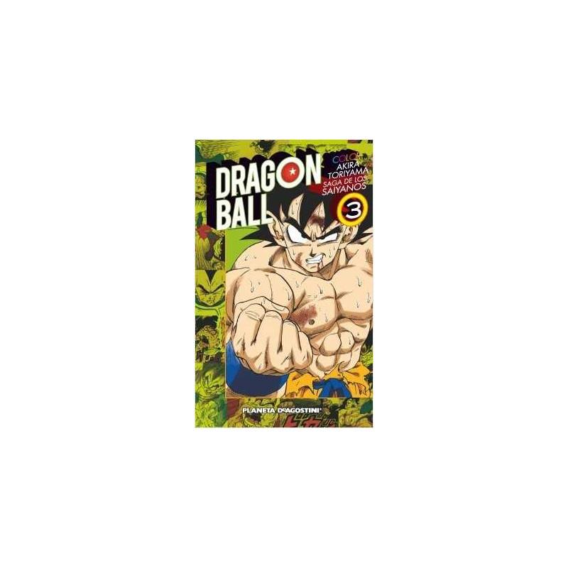 Dragon Ball Color Saiyan nº 03/03