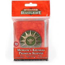 Fundas Premium - Machakantez de Morgok - Warhammer Underworlds: Beastgrave