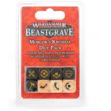 Set de dados -Machakantez de Morgok - Warhammer Underworlds: Beastgrave