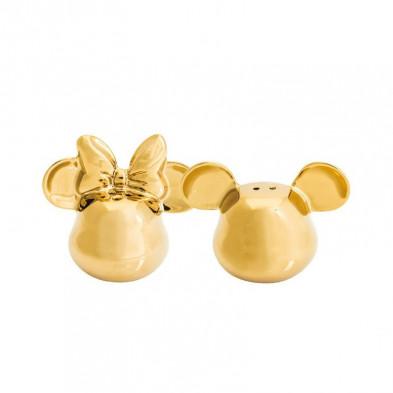 Pack de salero y pimentero - Disney - Mickey y Minnie Mouse