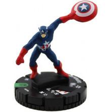 Figura de Heroclix - Captain America 018a