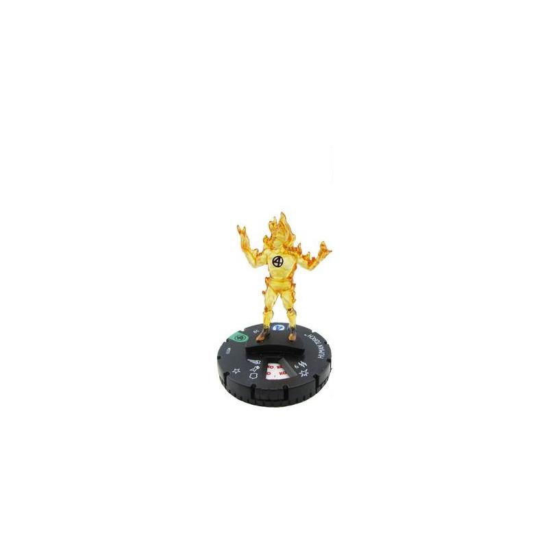 Figura de Heroclix - Human Torch 019