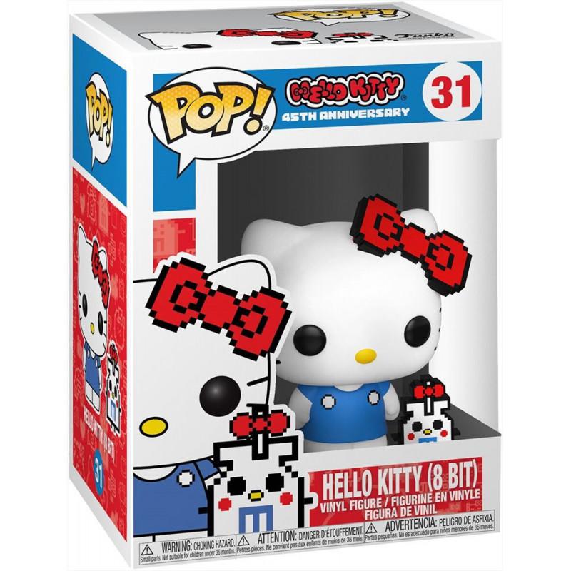 Figura Funko Pop - Hello Kitty  con Buddy (8 bit)