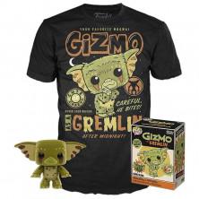 Pack Funko Pop & Tee - Los Gremlins - Gizmo
