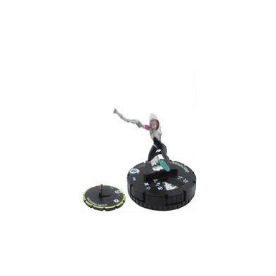 Figura de Heroclix - Ghost-Spider 037 + Dimensional Watch S003