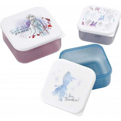 Set de fiambreras Disney - Frozen