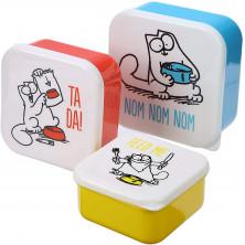 Set de fiambreras Simon's Cat - Color