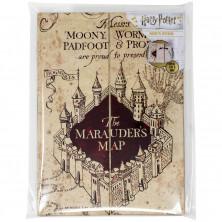 Libreta Harry Potter - Mapa de los merodeadores