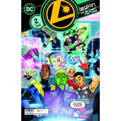 Cómic - Legión de Superhéroes 2