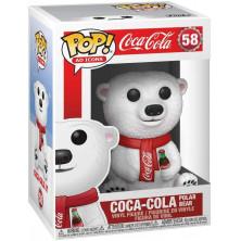 Figura Funko Pop - Iconos publicidad - Oso Polar - Coca-Cola