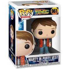 Figura Funko Pop - Regreso al futuro 961 - Marty con chaleco acolchado