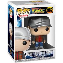 Figura Funko Pop - Regreso al futuro 962 - Marty con traje del futuro