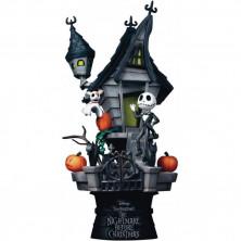 Figura diorama diorama Disney - Casa encantada de Jack Skellington - Pesadilla antes de Navidad