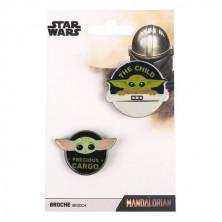 Pack de broches Star Wars: The Mandalorian - Baby Yoda