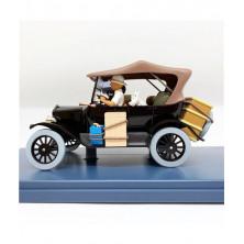 Coche Tintín - Tintín en el Congo - Ford T - Escala 1:24