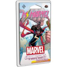 """Juego de cartas - Pack de héroe para """"Marvel Champions"""" - Ms Marvel"""