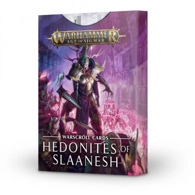 Tarjetas de unidad: Hedonites of Slaanesh - Warhammer - Age of Sigmar