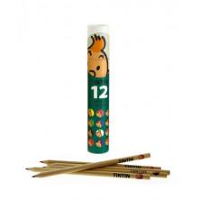 Tubo de lápices - Tintín