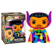 Figura Funko Pop - Marvel Black Light 651 - Doctor Extraño