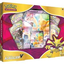 Caja de cartas Pokémon JCC - Colección Alakazam V