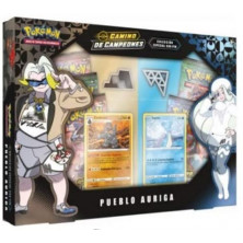 Caja de cartas Pokémon JCC - Camino de campeones: Pueblo Auriga
