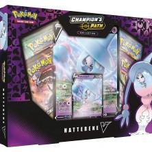 Caja de cartas Pokémon JCC - Camino de campeones: Hatterene V