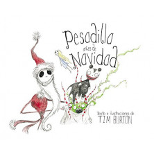 Libro ilustrado - Pesadilla antes de Navidad