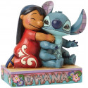 Figura Disney - Lilo y Stitch - Disney Traditions