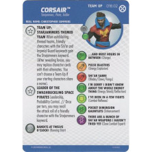 Tarjeta de Heroclix - Corsair Team Up 018.02