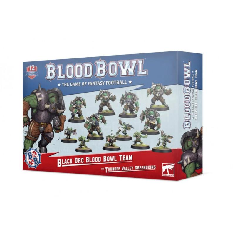Equipo Black Orc - Thunder Valley Greenskins - Blood Bowl