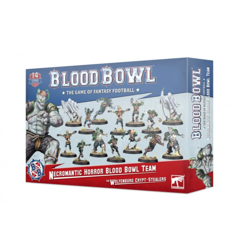 Equipo Necromantic Horror - Los Wolfenburg Crypt-Stealers - Blood Bowl