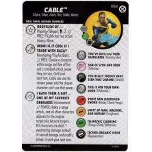 Figura de Heroclix - Cable 058