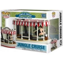 Figura Funko Pop - Rides 103 - Jungle Cruise - Mickey en barco de crucero por la jungla