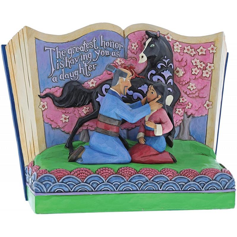 Figura libro de Mulán - El mayor honor - Disney Traditions