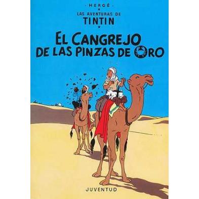 Cómic - Tintín -  El cangrejo de las pinzas de oro