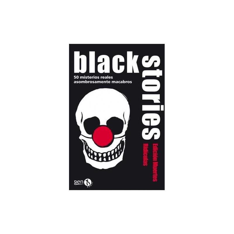 Juego de mesa Black Stories Muertes Ridiculas