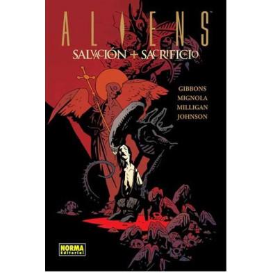 Comic Aliens Salvación + Sacrificio