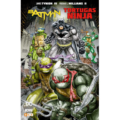 Comic Batman Tortugas Ninja