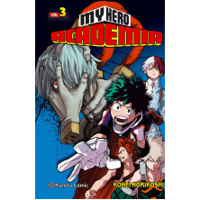 Cómic - My Hero Academia 03