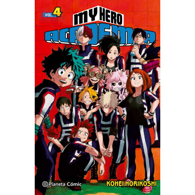 Comic My Hero Academia 04