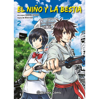 Comic El niño y la bestia 02