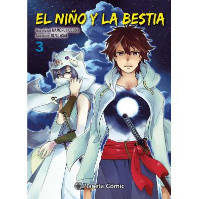 Comic El niño y la bestia 03