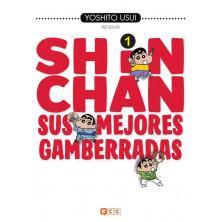 Comic Shin Chan: Sus mejores gamberradas 01