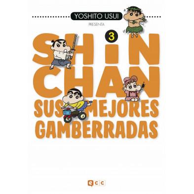 Comic Shin Chan: Sus mejores gamberradas 03