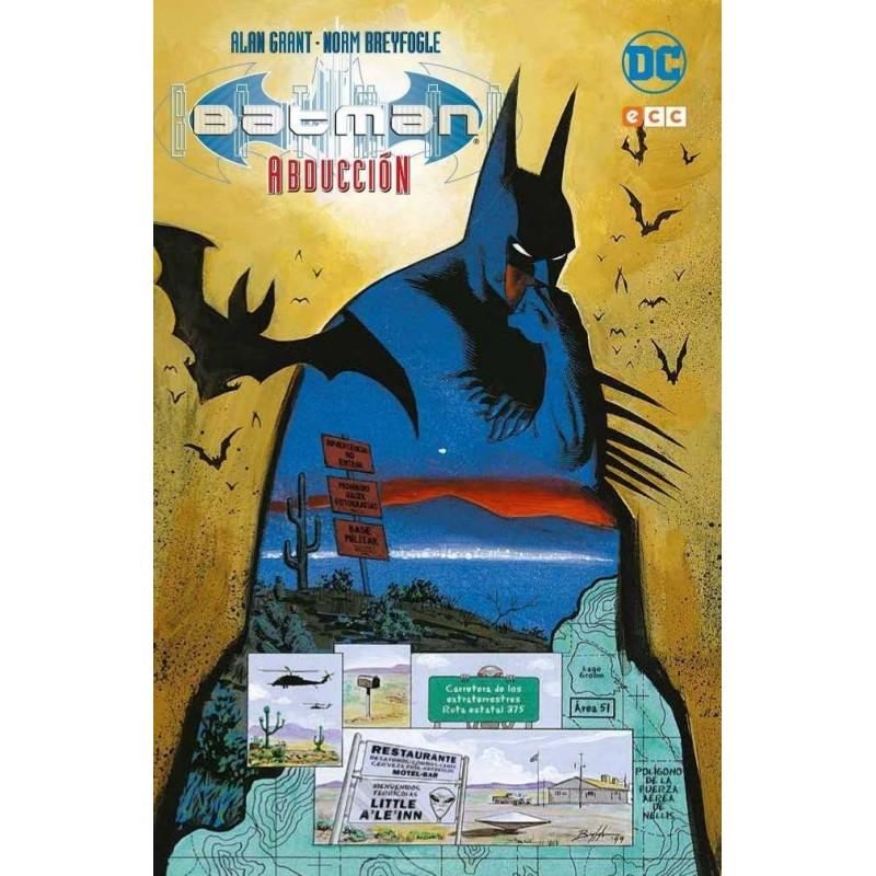 Comic Batman Abducción