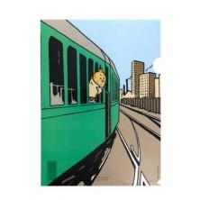 Dossier Tintín - Tren América