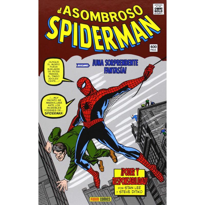 Comic El Asombroso Spiderman Poder y Responsabilidad